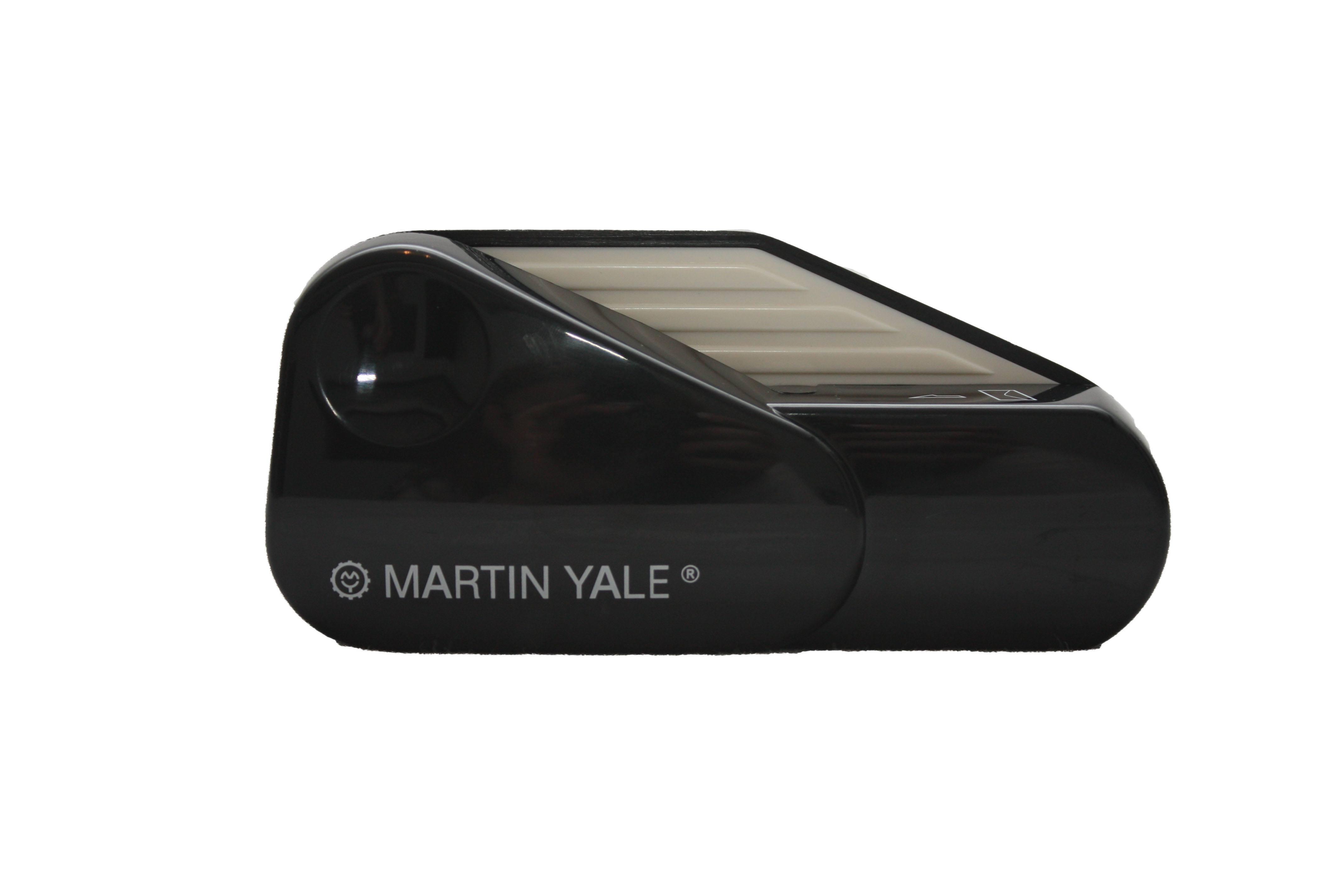 Black Martin Yale Model 1624 Handheld Battery Operated Letter Opener