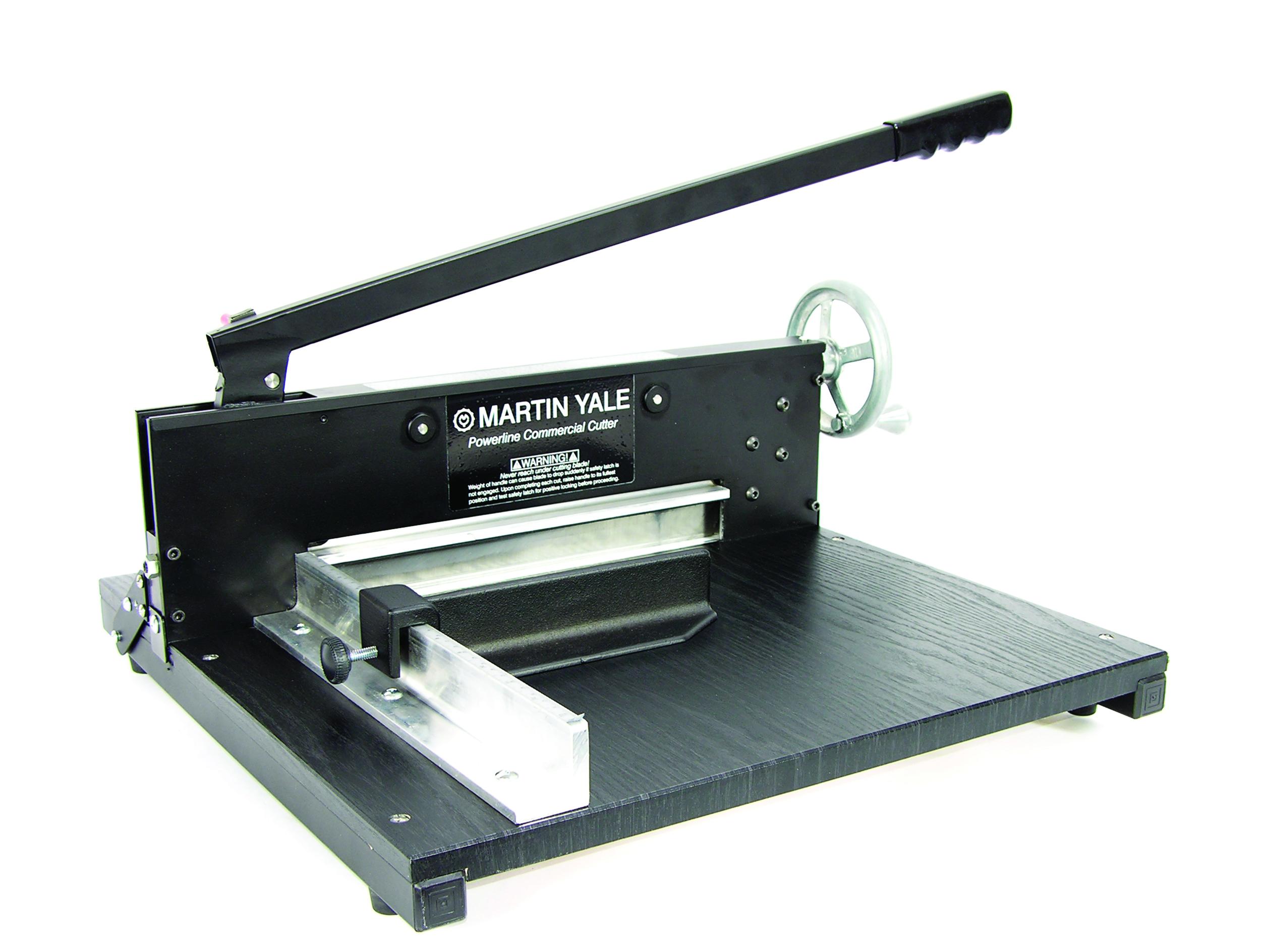 7000E Heavy Duty Tabletop Cutter - Martin Yale