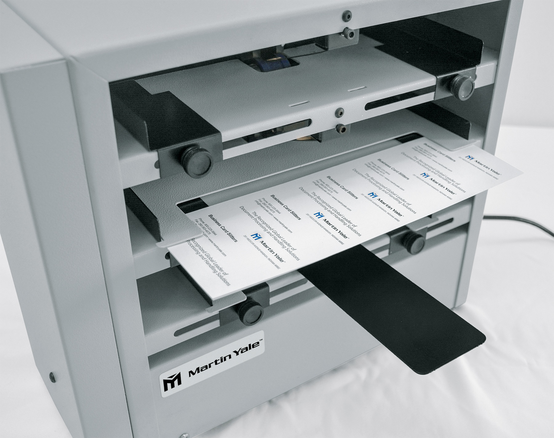 BCS410 Desktop Business Card Slitter/Score/Perforate - Martin Yale