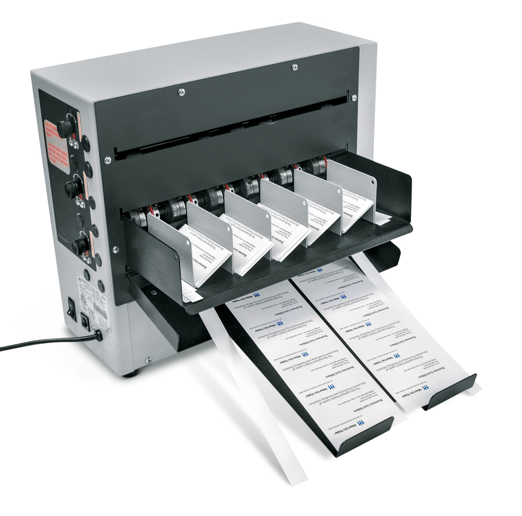 BCS410 Desktop Business Card Slitter/Score/Perforate - Martin Yale