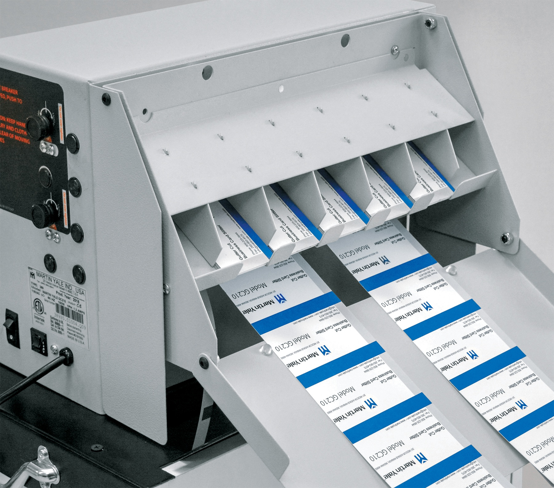GC210 Desktop Business Card Slitter - Martin Yale