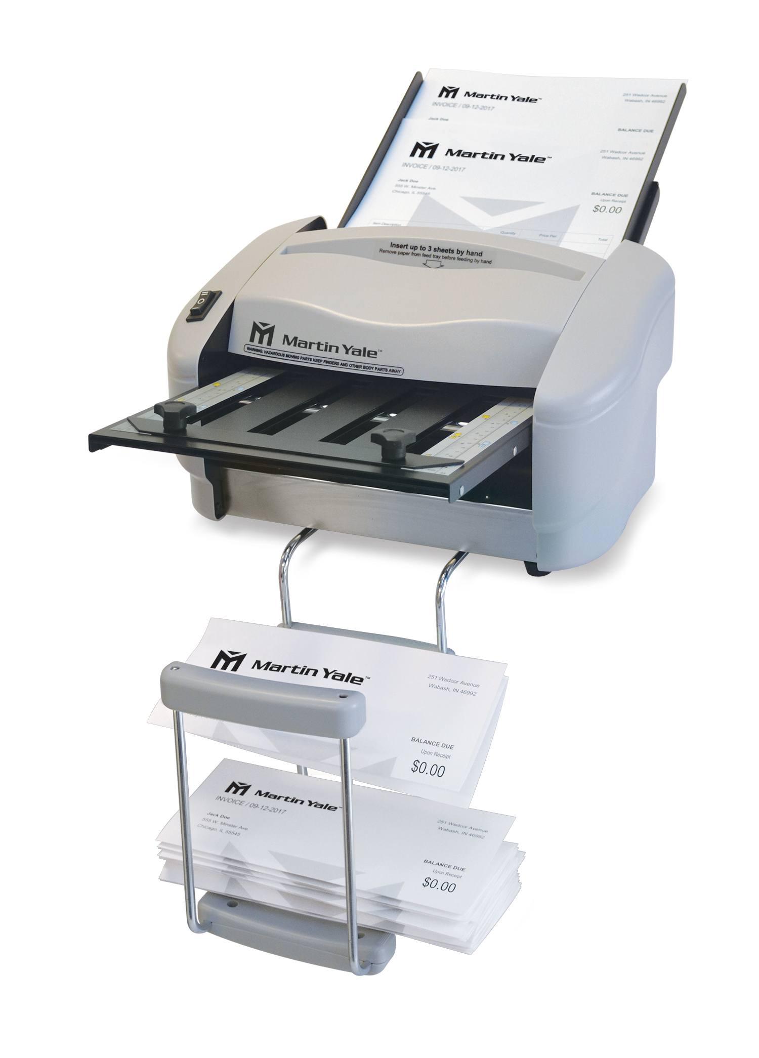 P Paper Folding Machine Martin Yale - Invoice folding machine