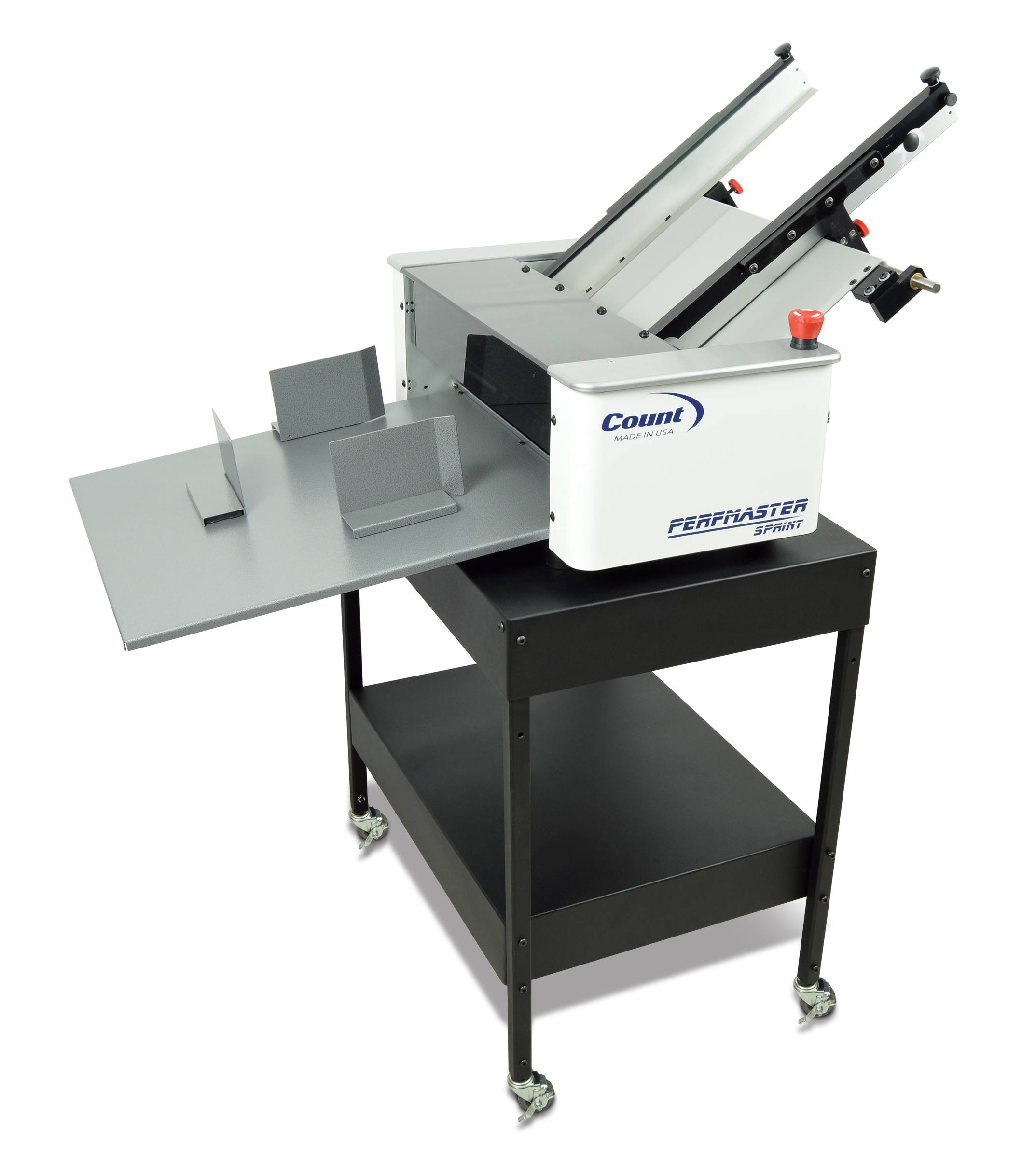 COUNT PerfMaster Sprint and CTS-100 Equipment Stand