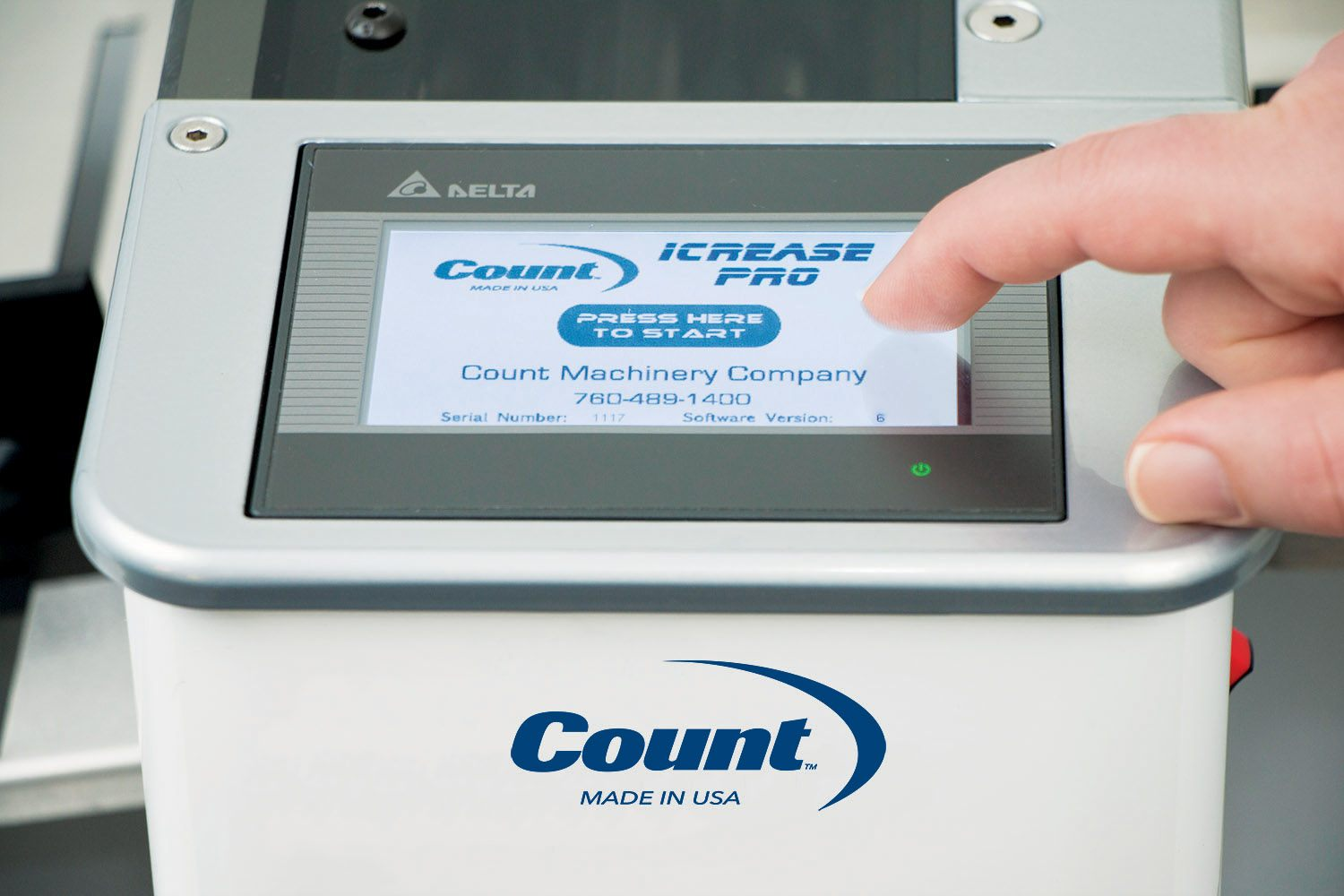 COUNT iCrease Pro Touch Screen